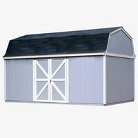 Handy Home Berkley Storage Shed - 10 x 18 ft.