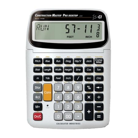 CALC INDUSTRIES CAL44080 Calc Ind 44080 Construct - Master Pro Trig Desktop - image 1 of 1