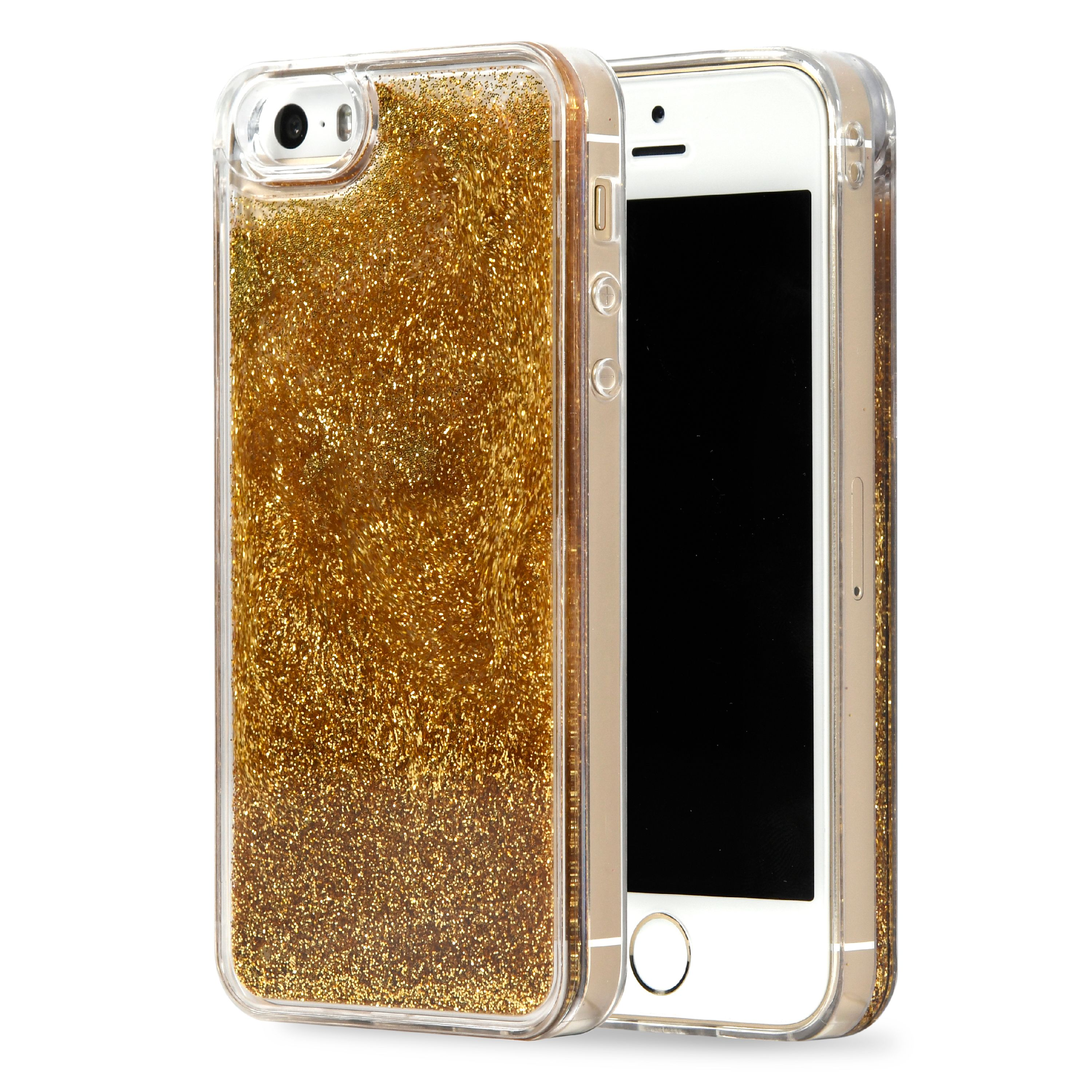 Onn Gold Cascade Case For Iphone 5/5S/Se