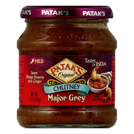 Patak's Chutney Major Grey, 12 OZ (Pack of 6) ()