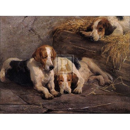 After The Hunt Poster Print By John Sargent Noble  32 X 24