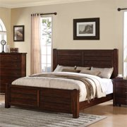 Picket House Furnishings Danner Queen Storage Bed in Chestnut