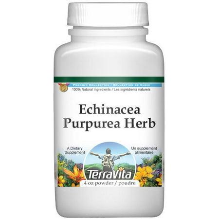 Echinacea Purpurea Herb Powder (4 oz, ZIN: 510930) - 2-Pack Echinacea Purpurea Echinacea Medicine