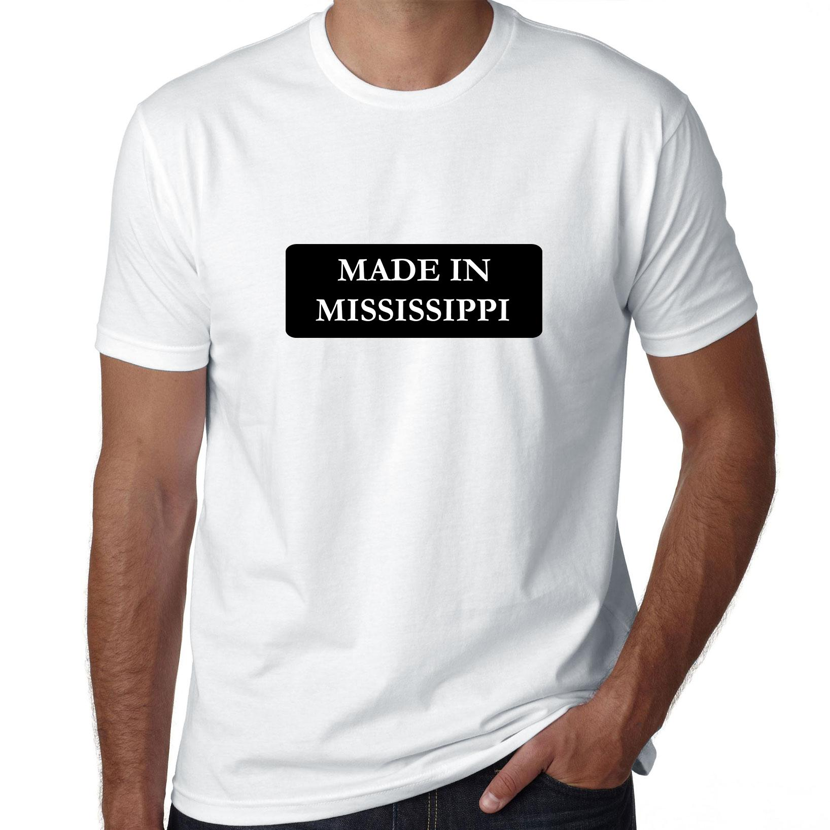 Hip Made In Mississippi State Pride Men's T-Shirt