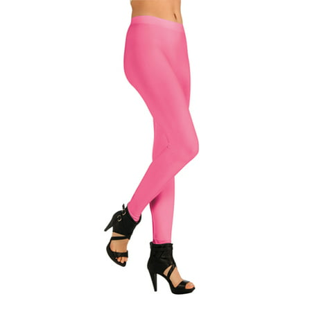 Womens Pink Colored Leggings Halloween Accessories - Leggings Halloween