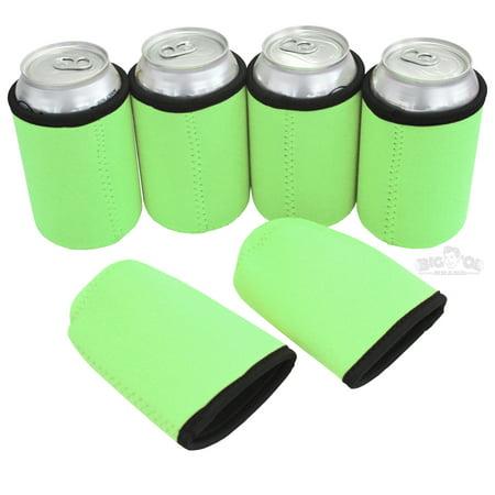 Thick Neoprene Can Cooler Beverage Insulator ()