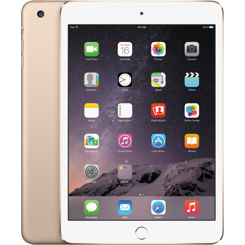 Refurbished Apple iPad Mini 3 16GB Gold Wi-Fi 3A136LL/A