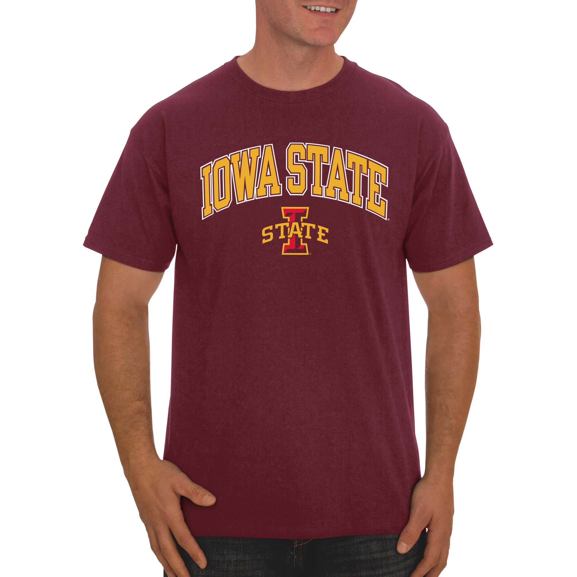 Russell NCAA Iowa State Cyclones Big Men's Classic Cotton T-Shirt