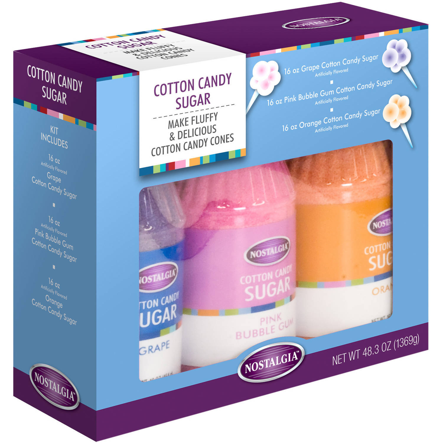 Nostalgia CCFS300 Cotton Candy Flossing Sugar