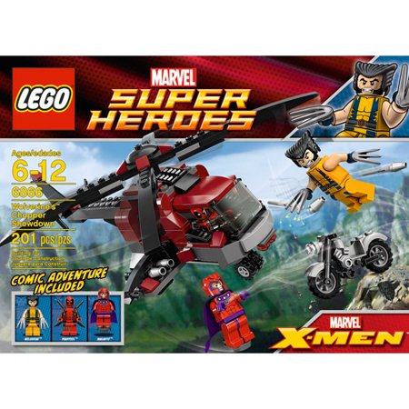 Lego Marvel Super Heroes Wolverines Chopper Showdown Play Set