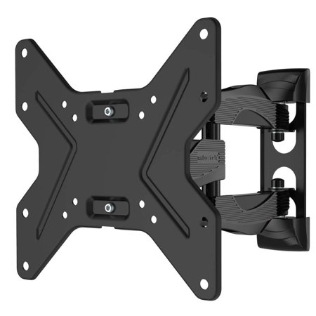 Husky Mounts Heavy Duty Full Motion TV Wall Mount Fits Most 32 Inch and other LED LCD Flat Screen Tilt Swivel Articulating Corner Friendly TV Bracket With UP to VESA (200 Bl Mount)