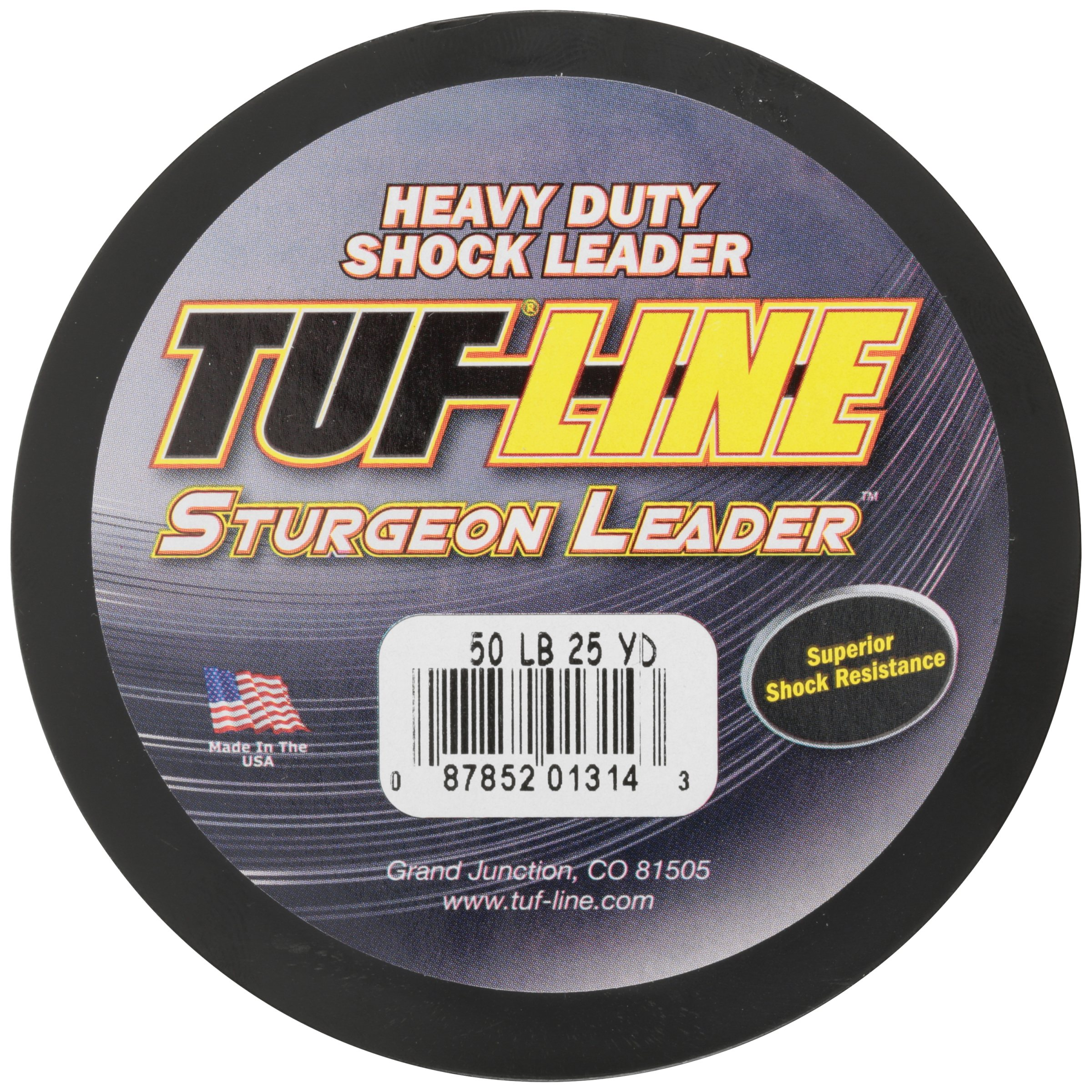 Tuf Line Sturgeon Leader Heavy Duty Shock Leader 25 yd. Fishing Line Carded Pack by Western Filament, Inc.