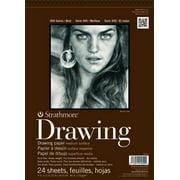 "Strathmore Drawing Paper Pad, 400 Series, Medium Surface, 14"" x 17"""