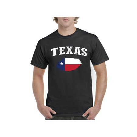 Texas State Flag Men Shirts T-Shirt Tee