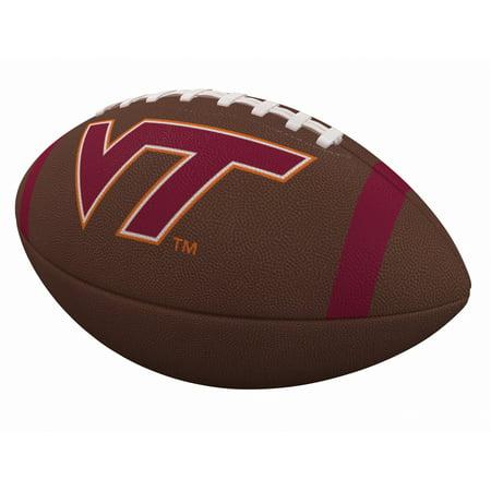 Virginia Tech Hokies Team Stripe Official-Size Composite Football