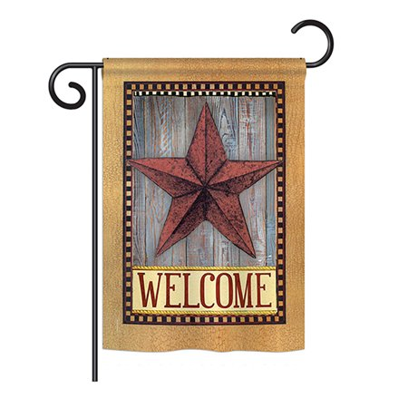 Angeleno Heritage G135054-BO Welcome Country Barn Star Inspirational Sweet Home Impressions Decorative Vertical 13
