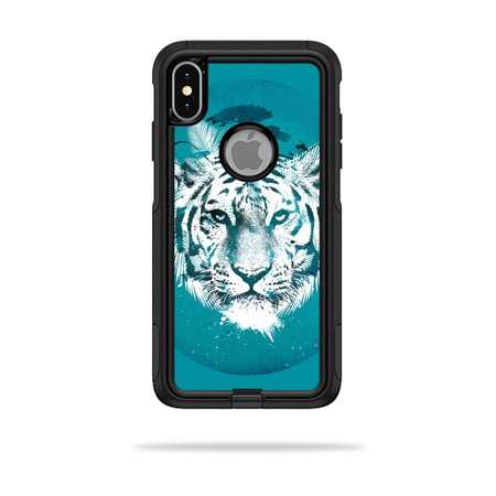 Skin for OtterBox Commuter iPhone XS Max Case - White Tiger | Protective, Durable, and Unique Vinyl Decal wrap cover | Easy To Apply, Remove, and Change Styles