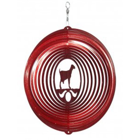 Goat - Nubian Circle Red Wind Spinner - image 1 of 1