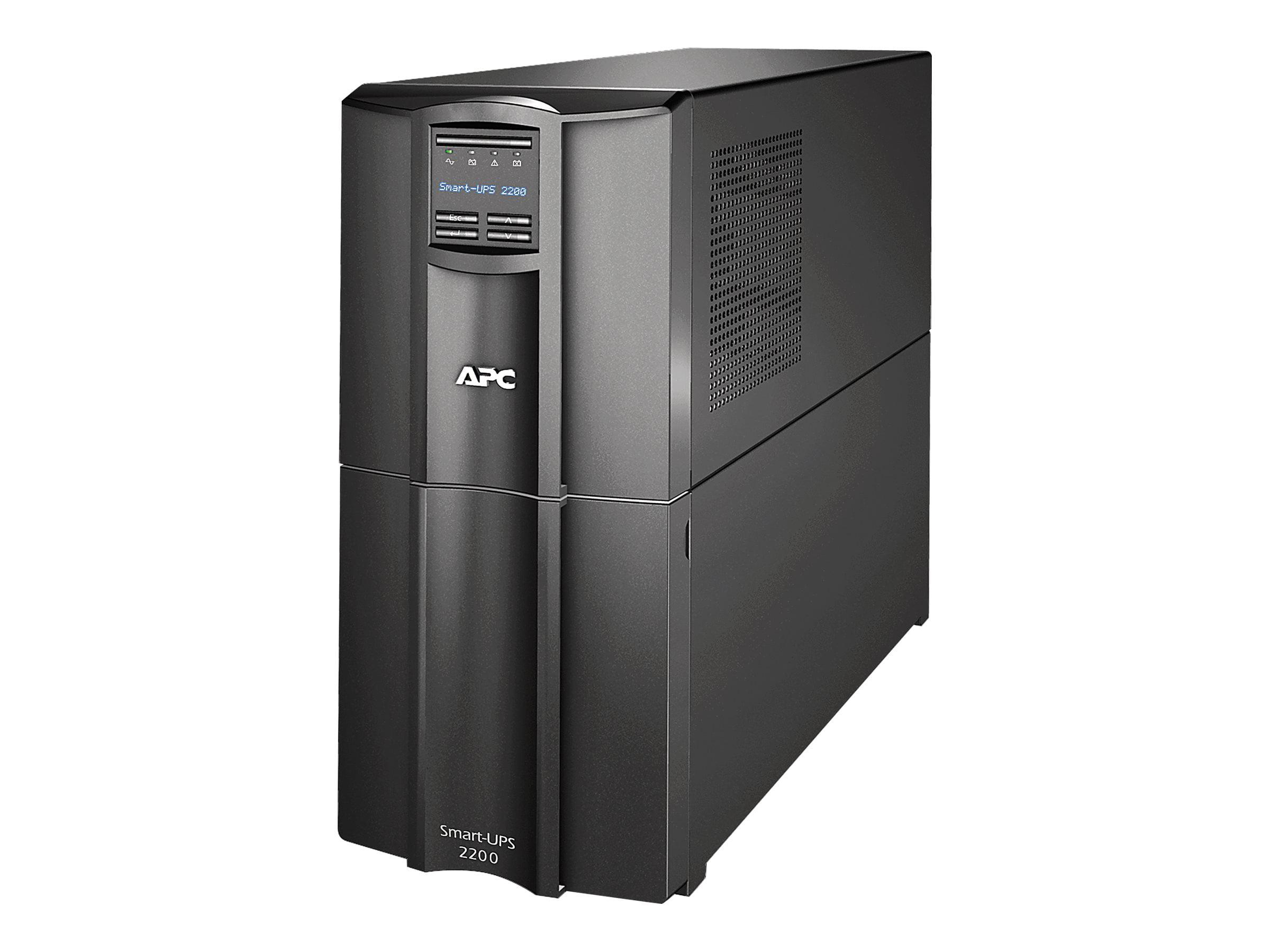APC Smart-UPS 2200 LCD UPS 1.98 kW 2200 VA by APC