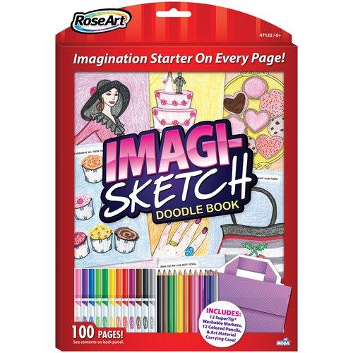 Roseart Girls' Imagi-Sketch Creative Doodle Set
