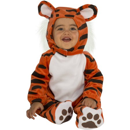 Tiger Infant Romper Halloween Costume - Halloween Items On Sale