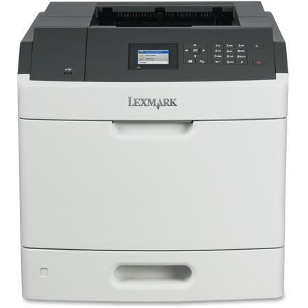 Lexmark MS710DN Laser Printer - Monochrome - 600 x 600 dpi Print - Plain Paper Print - Desktop - 50 ppm Mono Print - 350 sheets Standard Input Capacity - 250000 Duty Cycle - Automatic Duplex Print - L