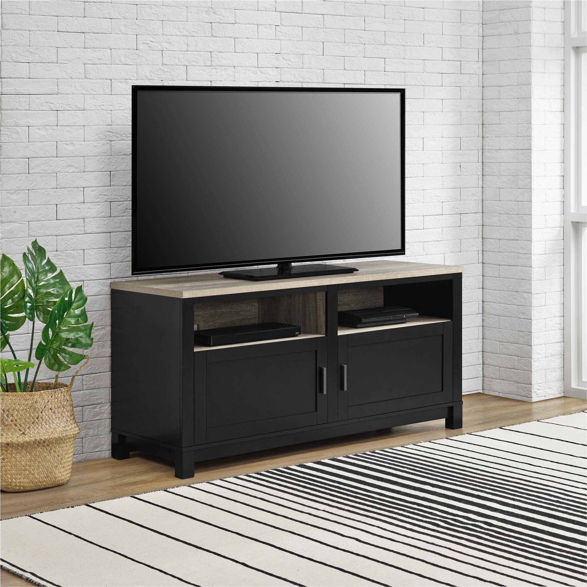 "Better Homes and Gardens Langley Bay TV Stand for TVs up to 60"" Wide, Multiple Colors"