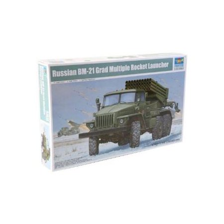 Multiple Rocket Launcher - Trumpeter Early Version BM-21 Russian Grad Multiple Rocket Launcher Model Kit, Scale 1/35