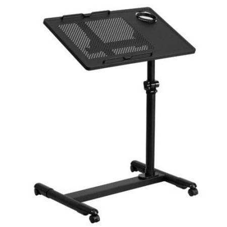 Flash Furniture Adjustable Height Steel Mobile Computer Desk, Multiple Colors