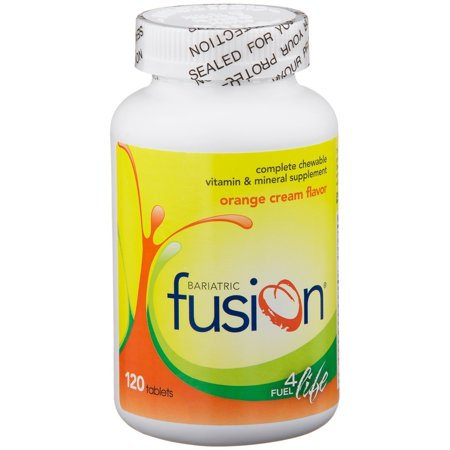 Bariatric Fusion - Complete Chewable Multivitamin and Mineral Supplement - Orange Cream - 120 Tablets ()