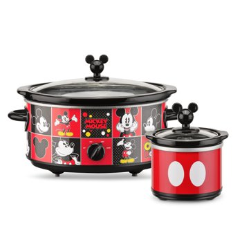 Disney 5-Quart Oval Slow Cooker with 20-Ounce Dipper