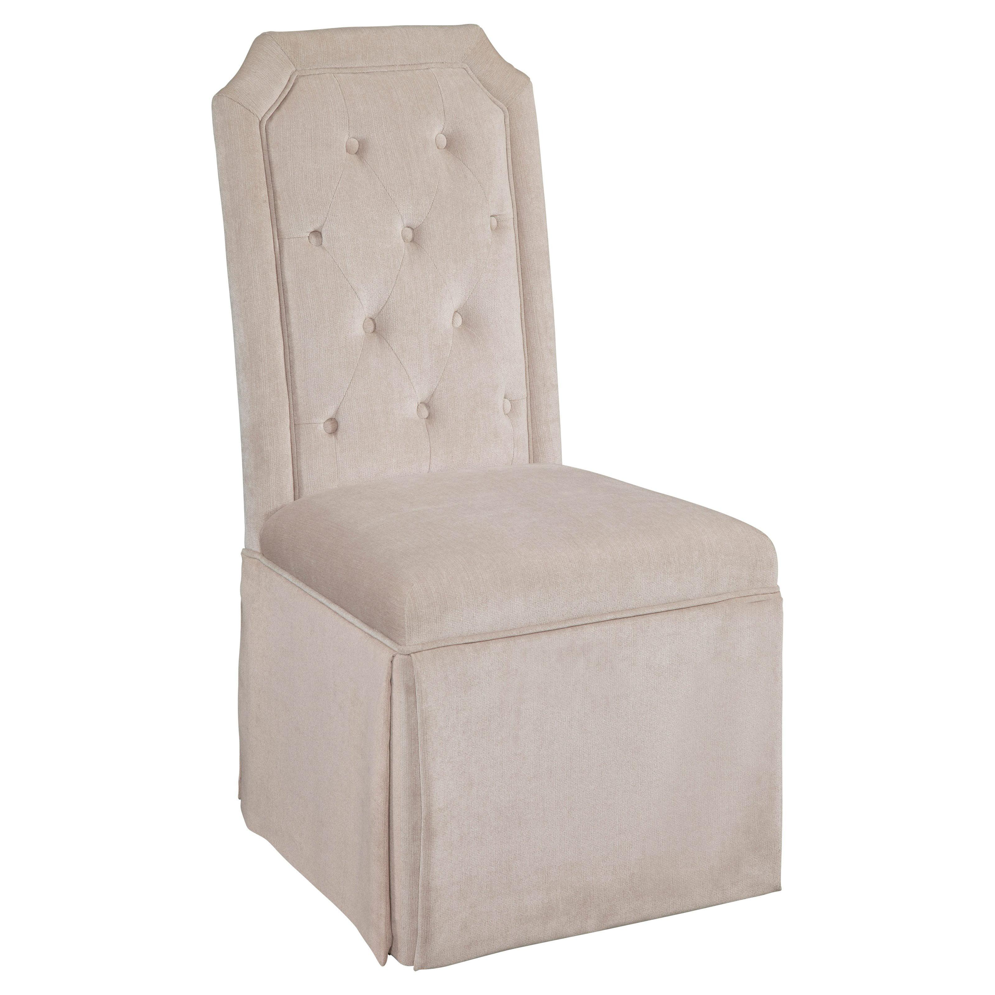 Bassett Mirror Aramis Dining Parson Chair by Bassett Mirror Company Inc