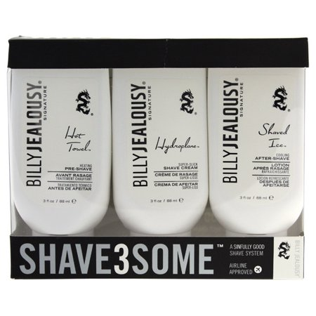 Best Billy Jealousy  Shave3Some 3-piece Shave System deal