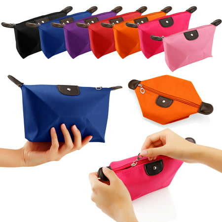 Travel Cosmetic Bag Storage Pouch Purse Makeup Case Multifunction Toiletry Zipper Organizer Handbag
