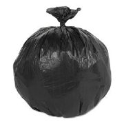 Linear Low Density Can Liners, 12-16 gal, 0.75 mil, 33 x 39, Black