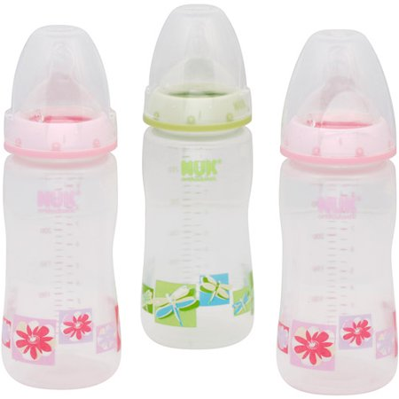 Gerber Nuk Orthodontic Bottle Nature 10oz 3 Walmart Com