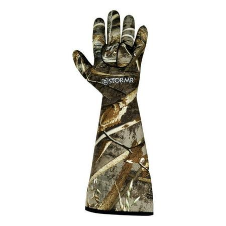Stormr Gloves Mens Stealth Gauntlet Neoprene RGC30G (Pursuit Stealth Gloves)