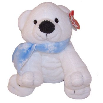 TY Pluffies - CHILLS the Polar Bear (Barnes   Noble Exclusive ... 06b4753cb0e