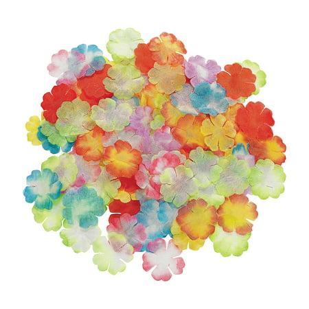 - Fun Express - Assorted Mini Bright Flower Petals for Summer - Party Decor - General Decor - Confetti - Summer - 1000 Pieces