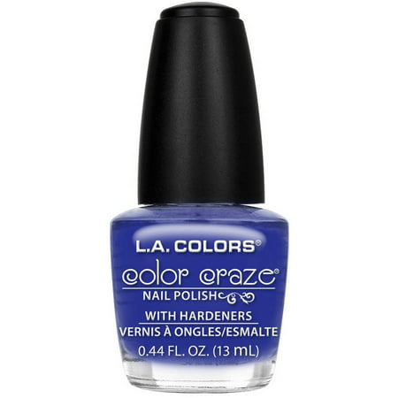 L.A. Colors Color Craze Nail Polish, In a Flash