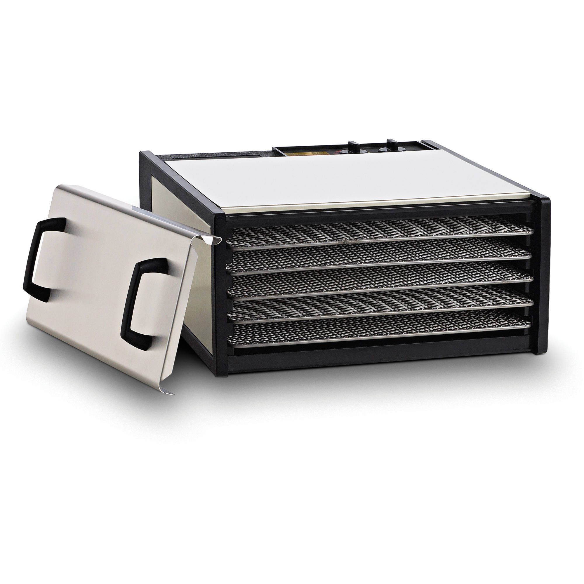 Excalibur 5-Tray Dehydrator with Timer, Stainless Steel