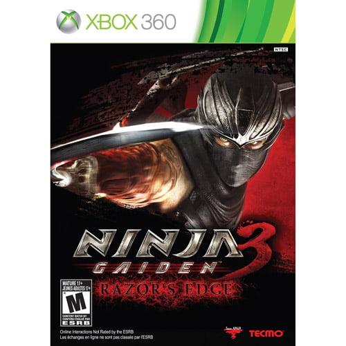 Ninja Gaiden 3 Razor S Edge Xbox 360 Walmart Com Walmart Com