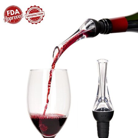 Premium WINEMASTER Aerating Pourer and Decanter Spout with Elegant Design (900020)