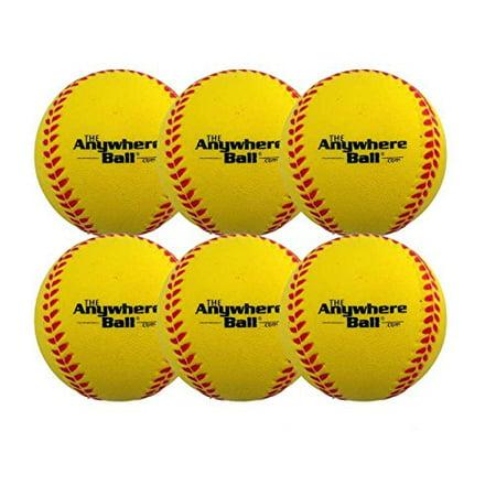 Wilson A1001 Flat Seam High School League Baseballs, 12 Pack