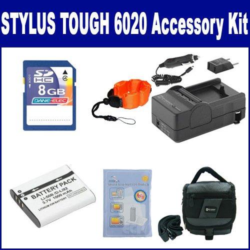 Olympus Stylus Tough 6020 Digital Camera Accessory Kit in...