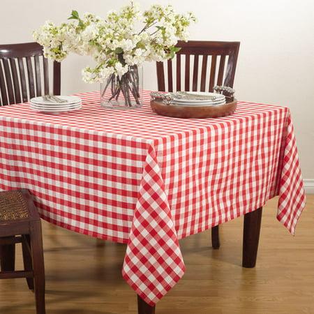 Saro Saro Gingham Design Tablecloth for $<!---->