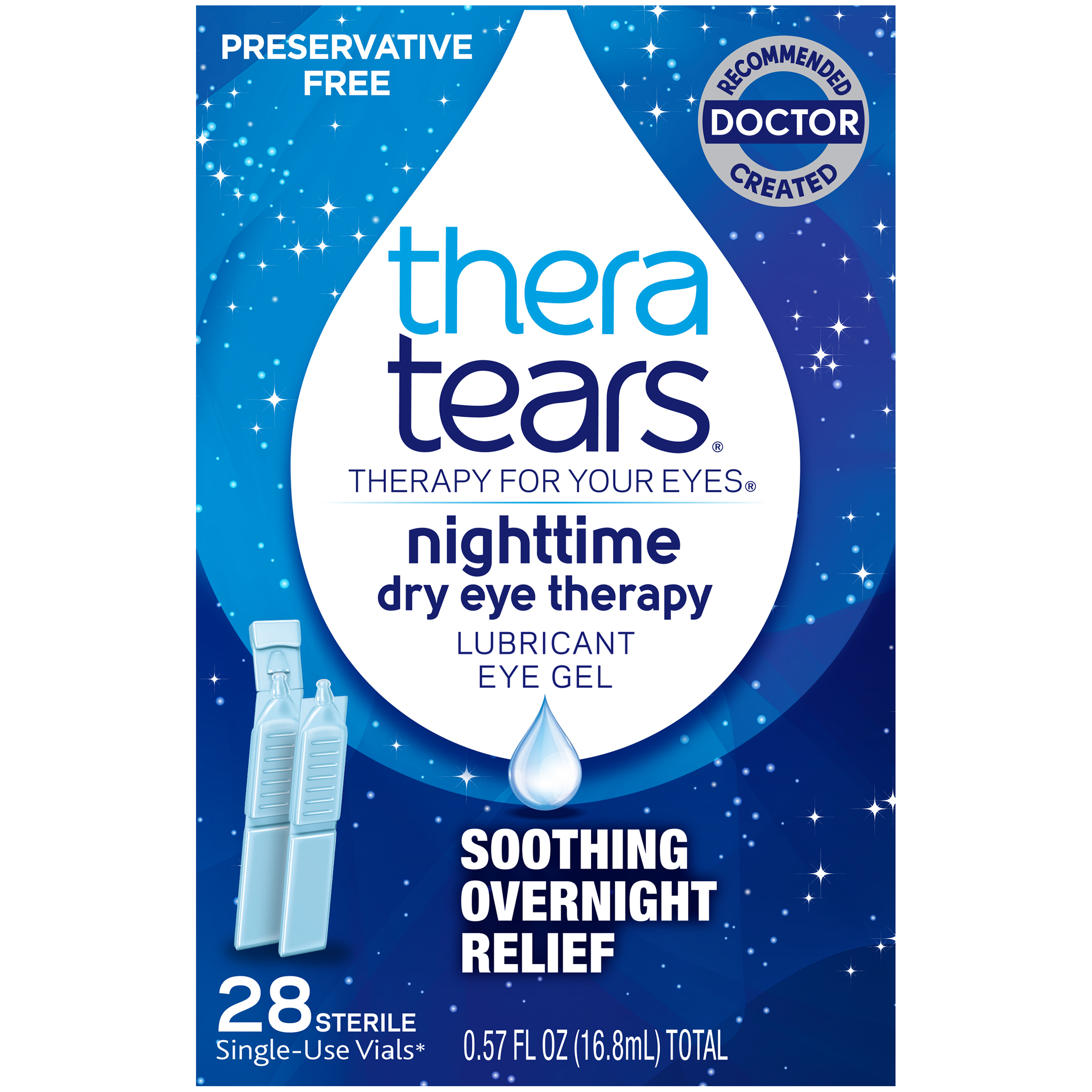 Thera Tears Liquid Gel Eye Drops, 0.57 Fl Oz