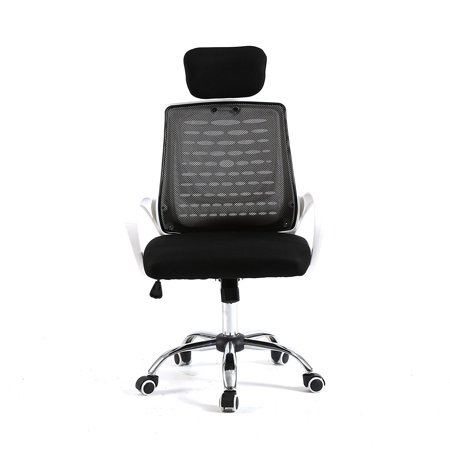 Pleasant Magshion Modern Headrest Mesh Drafting Computer Office Desk Chair Commercial Task Chairs Black White Ocoug Best Dining Table And Chair Ideas Images Ocougorg
