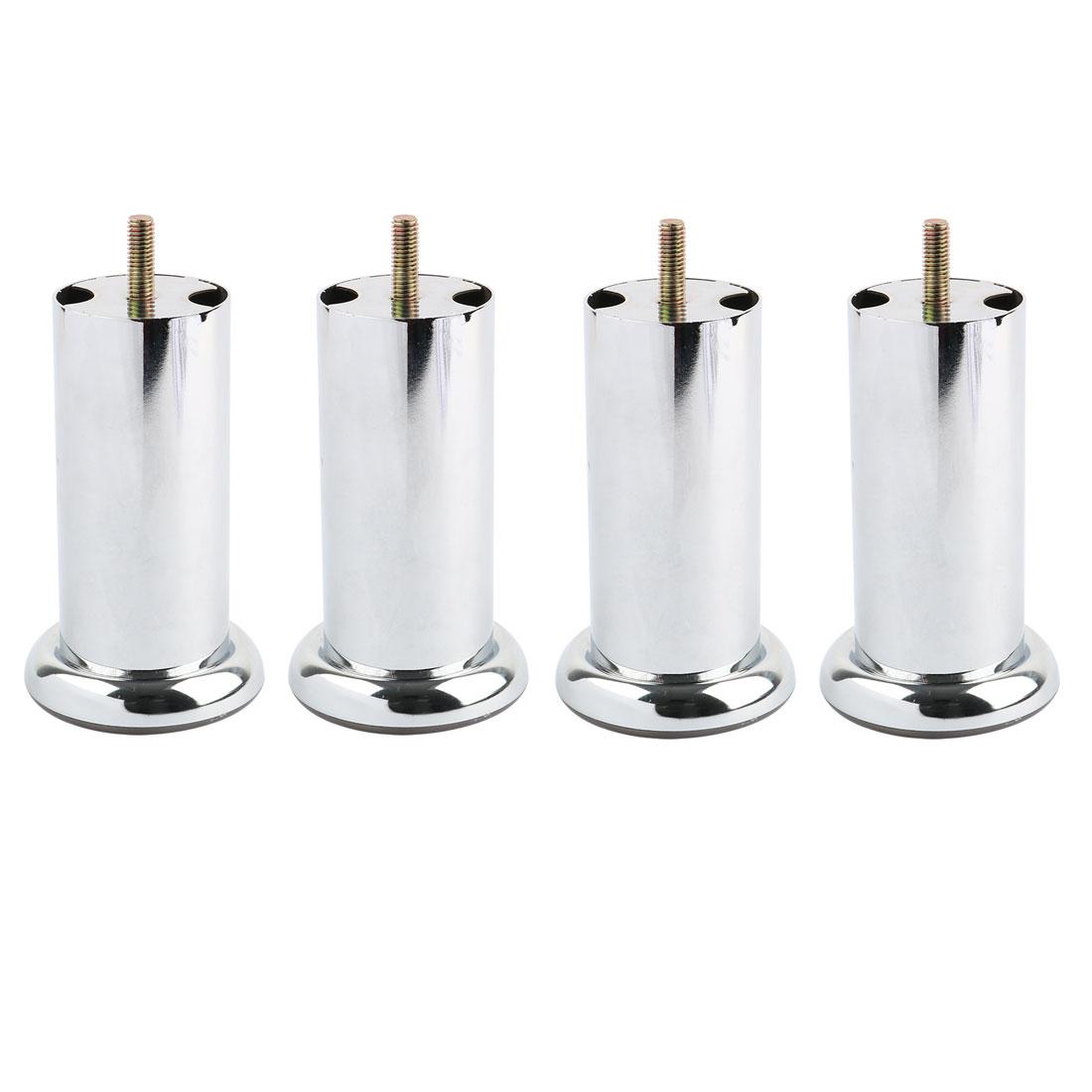 4pcs Metal Furniture Legs Cabinet Wardrobe Sofa Desk Table Bed Feet 70 x 120mm