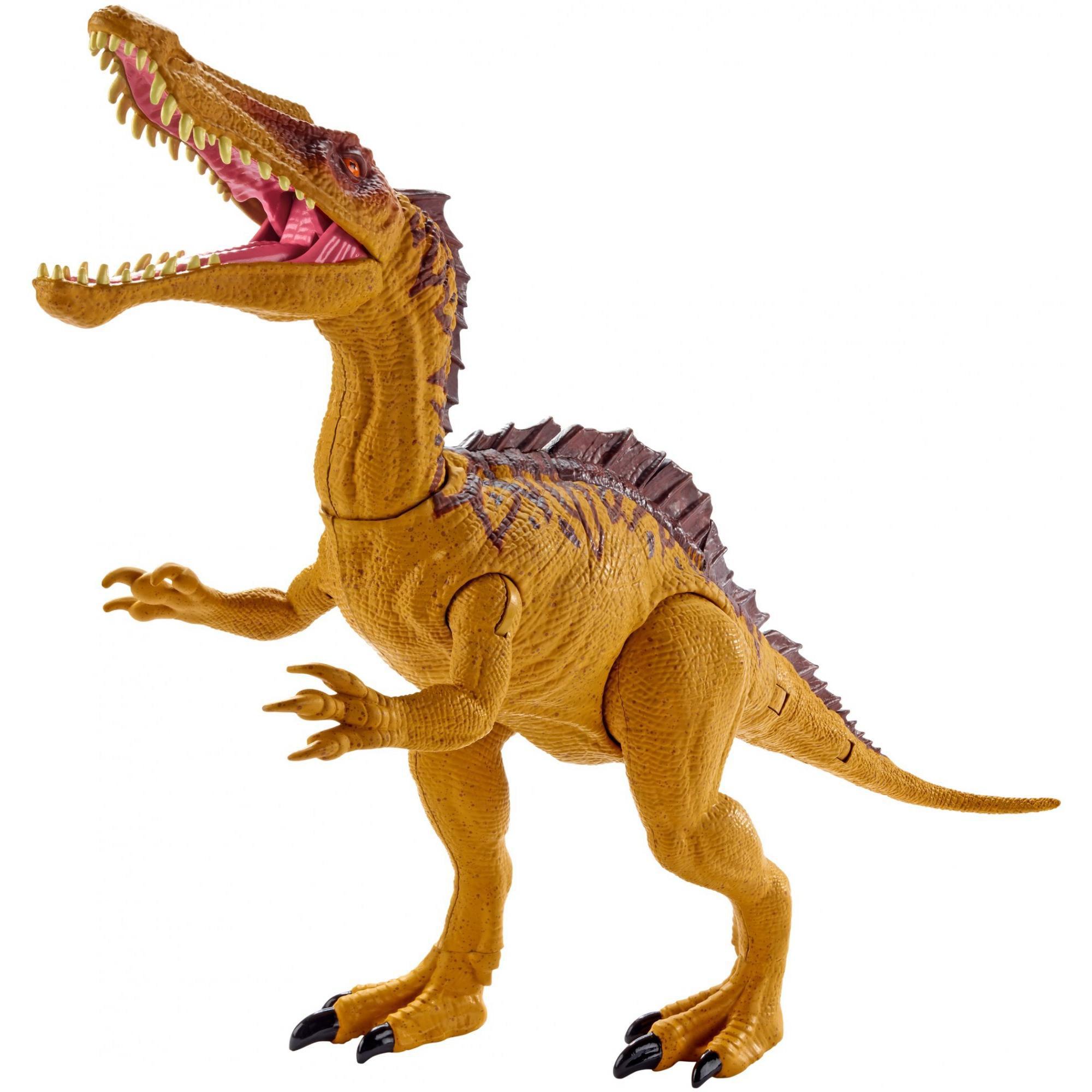 Jurassic World Mega Dual Attack Suchomimus Dinosaur Figure